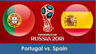 مباراة البرتغال واسبانيا  اليوم 15/6/2018 كورة اون لاين