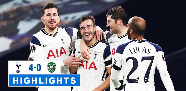 Tottenham Hotspur vs Ludogorets – Highlights