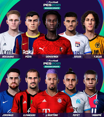 PES 2021 Facepack Vol 4 by Yeshua