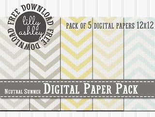 Free Digital Paper Pack by Lilly Ashley