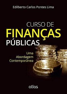 Livro: Curso de finanças públicas / Autor: Edilberto Carlos Pontes Lima
