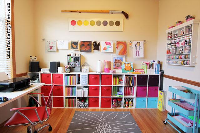 Under A Cherry Tree Jin Amp Kids Craft Room