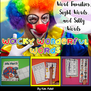 https://www.teacherspayteachers.com/Product/Word-Families-and-Other-Wacky-Words-158644