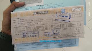 Bukti Pembayaran SIM