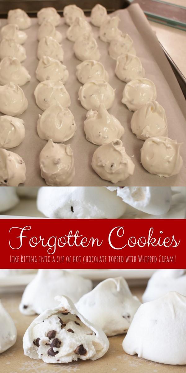 Forgotten Cookies #Cookiesrecipes