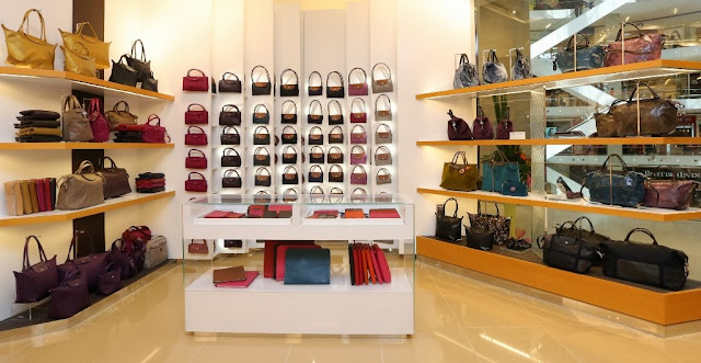 longchamp pavilion KL, new exclusive store, luxury handbag, famous fashion blogger