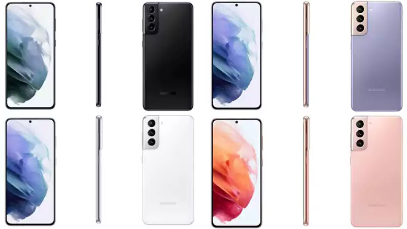 الوان هاتف سلسلة samsung galaxu s21