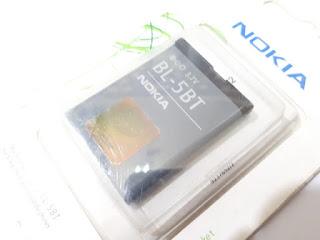 Baterai Nokia BL-5BT BL5BT Original 100%
