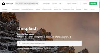 موقع Unsplash