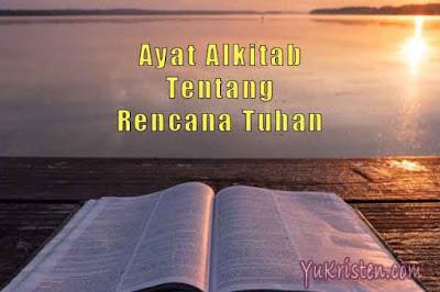 ayat alkitab tentang rencana tuhan
