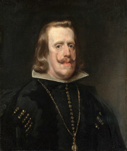Диего Веласкес - Портрет Филиппа IV (ок.1656)