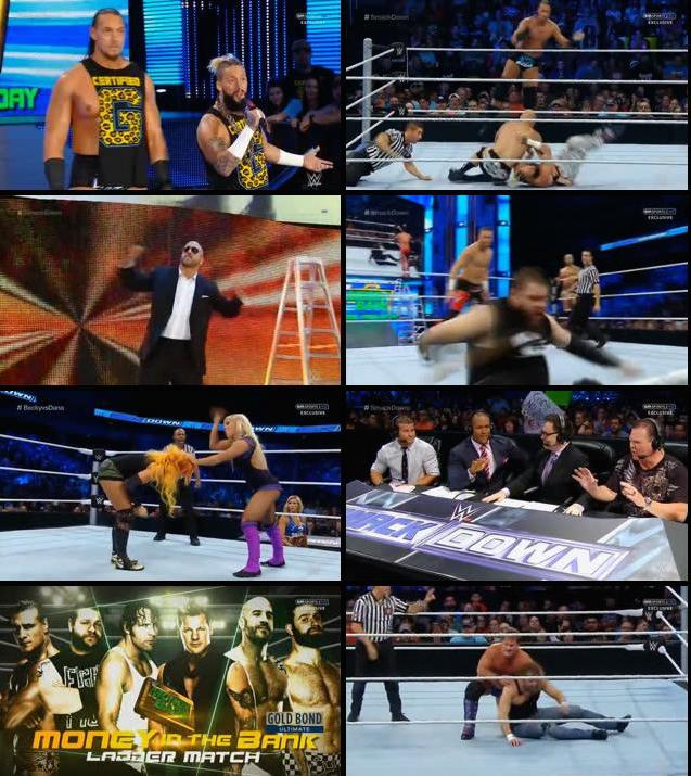 WWE Thursday Night Smackdown 09 June 2016 HDTV 480p