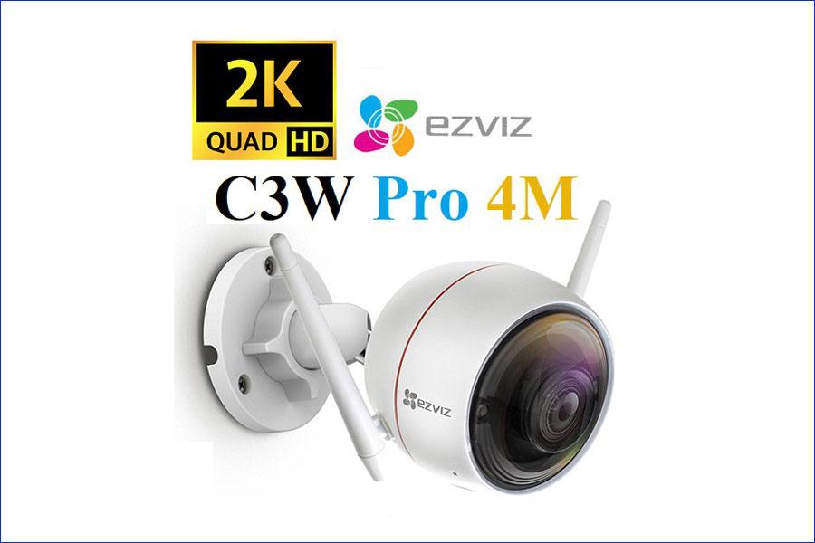 Camera AI wifi ngoài trời Ezviz C3W Pro Fullcolor