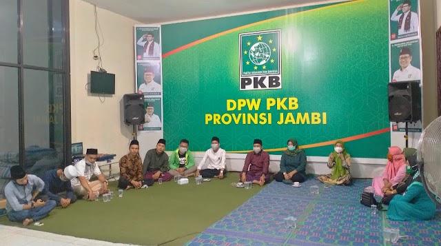 Peringati Harlah NU ke-95, DPW PKB Jambi Ikuti Istighotsah dan Tahlil