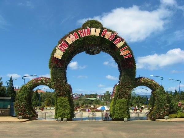 Vườn Hoa Thành Phố địa điểm không thể bỏ qua khi đến Đà Lạt