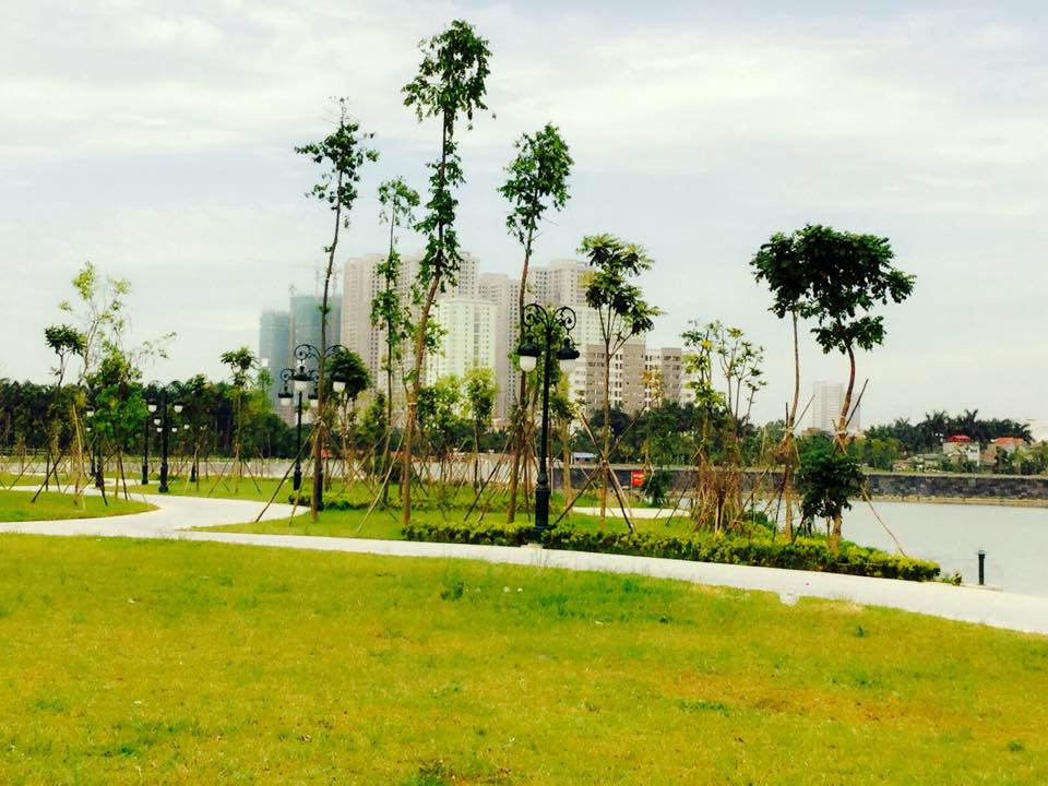 Công viên cây xanh tại dự án An Bình City - 232 Phạm Văn Đồng