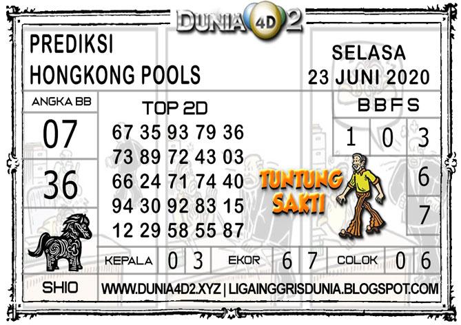 Prediksi Togel HONGKONG DUNIA4D2 23 JUNI 2020