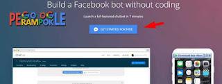 cara mudah membuat Bot Messenger fanspage