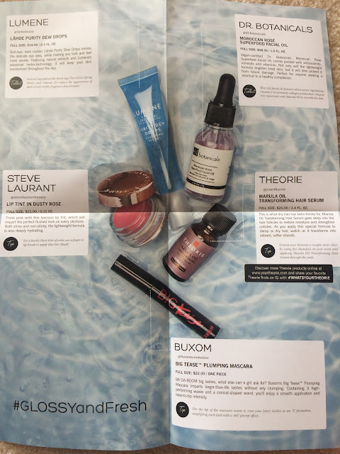 GlossyBox Subscription Box Review January 2018