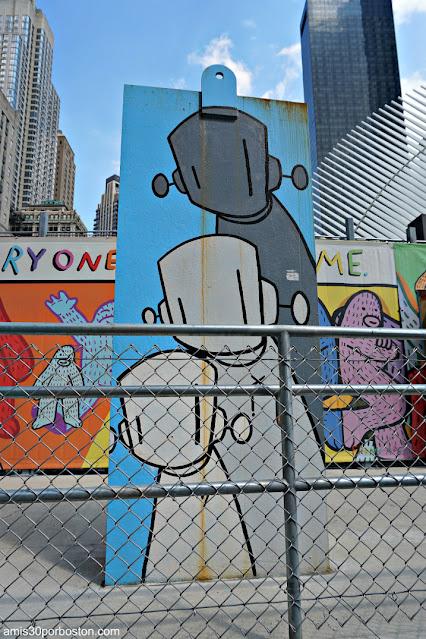 Chris RWK (Robots Will Kill) en Nueva York