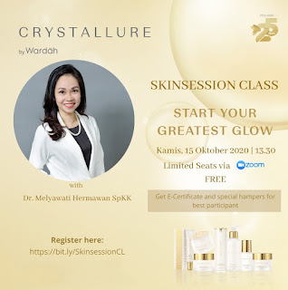Skinsession class crystallure by wardah