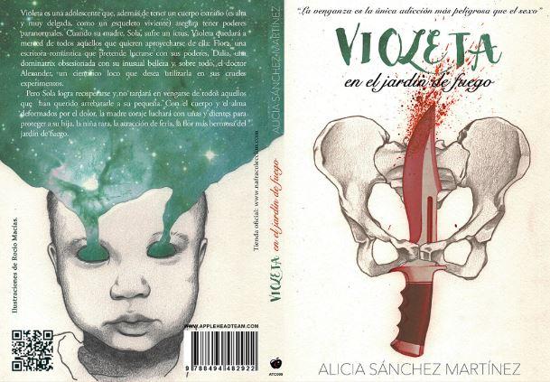 Violeta en el jardin de fuego, Alicia Sanchez Martinez