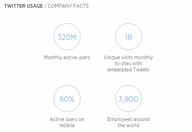Twitter Usage - Company Facts