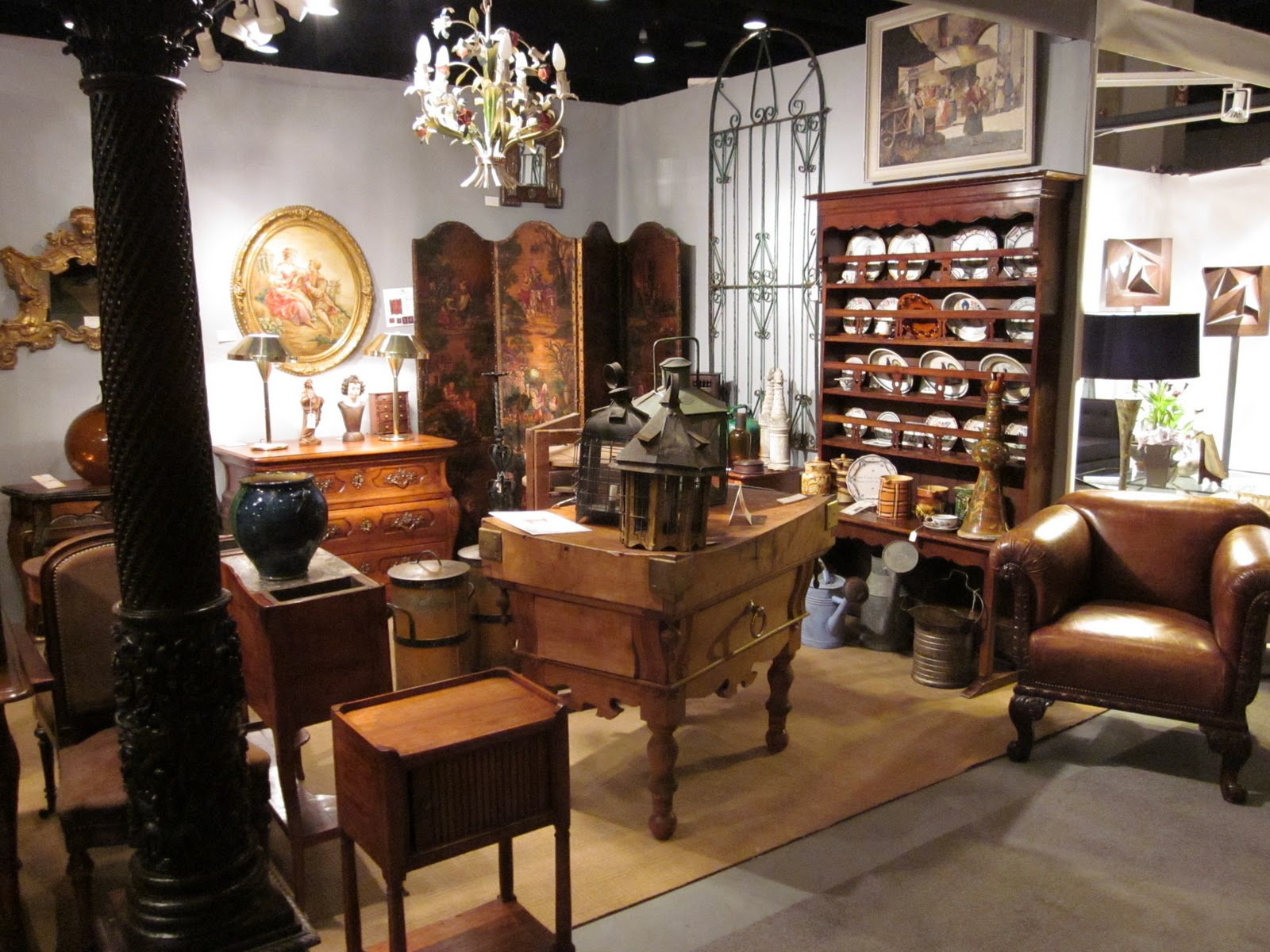 French Country Antiques: Antique and Garden show in ...