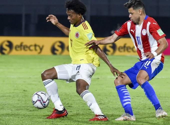 Colombia firmó el empate en su visita a Paraguay: 1-1 que lo tiene metido en la pelea por un cupo al Mundial de Catar