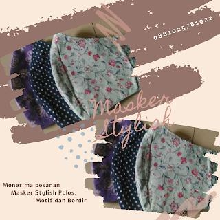 Masker Stylish Polos & Motif