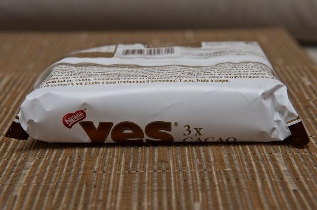 Yes - Nestlé - Gâteau - Yes Cacao - Génoise - Dessert - Souvenir années 80 -