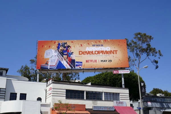 Arrested Development season 5 billboard