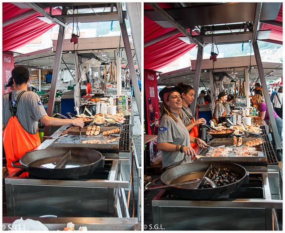 Comer en Bergen. El mercado de pescado