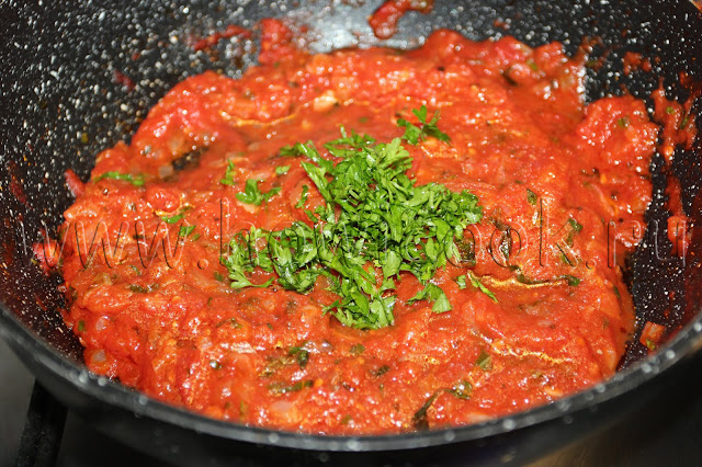 рецепт пасты маринара с пошаговыми фото