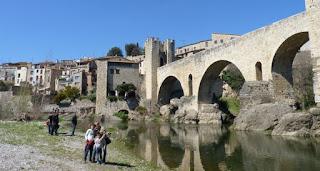 Puente Románico de Besalú.