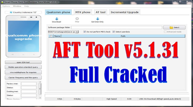 Download AFT Vivo Qualcomm MTk Tool V5.1.31 Full Cracked Free By Jonaki TelecoM