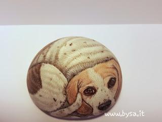 Costo sassi dipinti cani