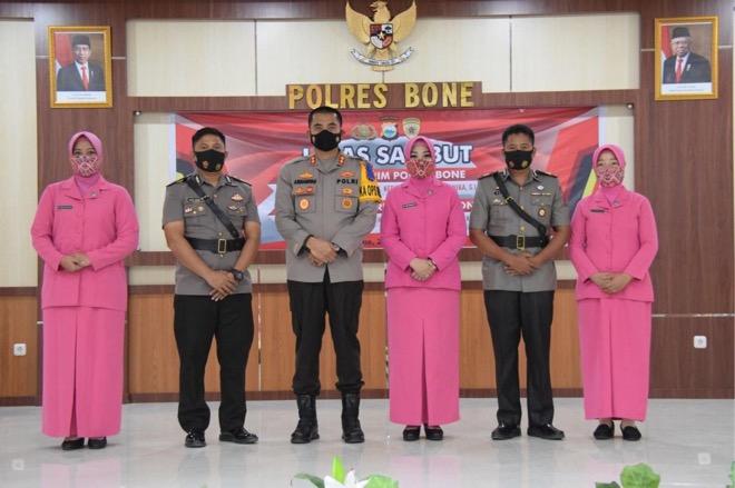 Kasat Reskrim Polres Bone Resmi Dimutasi ke Polsek Ujung Pandang Makassar, Ini Penggantinya