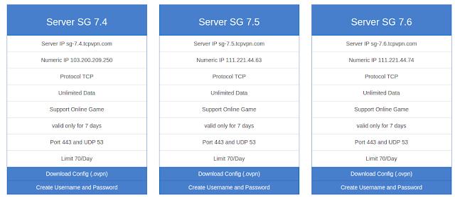 buat akun vpn server