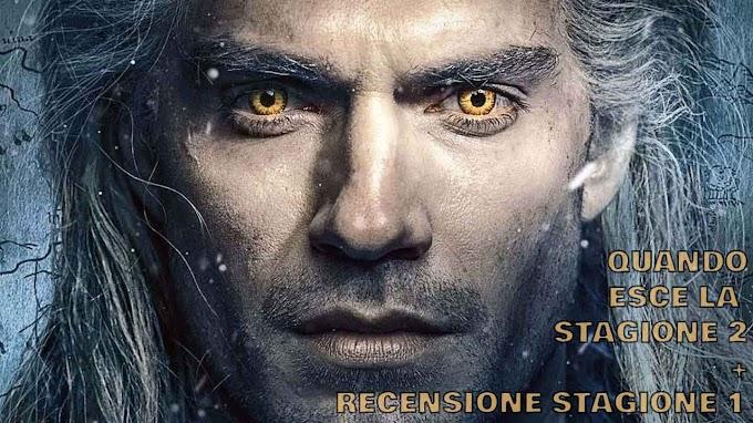 The Witcher stagione 2 quando esce + recensione stagione 1