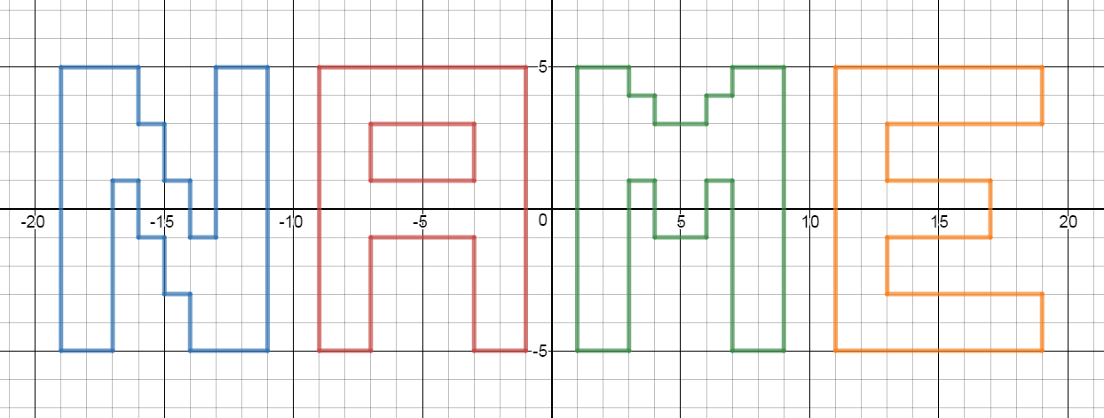 8 x 8 graph paper