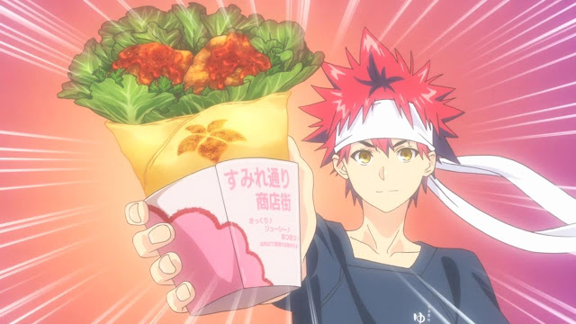 Shokugeki no Souma The Second Plate