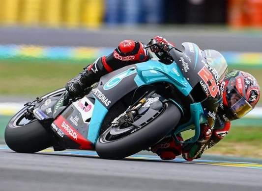 Quartararo Pole Position Motgp Le Mans 2020