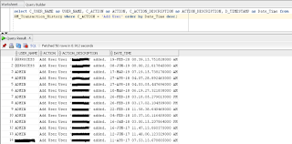 DRM: Users creation date in Oracle DRM