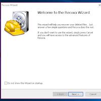 Cara recovery data menggunakan software Recuva 100% work