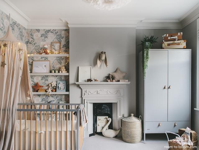 the sweetest girly nursery