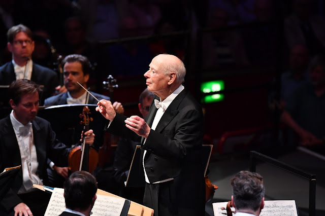 Bruckner: Symphony No. 7 - Bernard Haitink, Vienna Philharmonic Orchestra at the 2019 BBC Proms (Photo BBC / Chris Christodoulou)