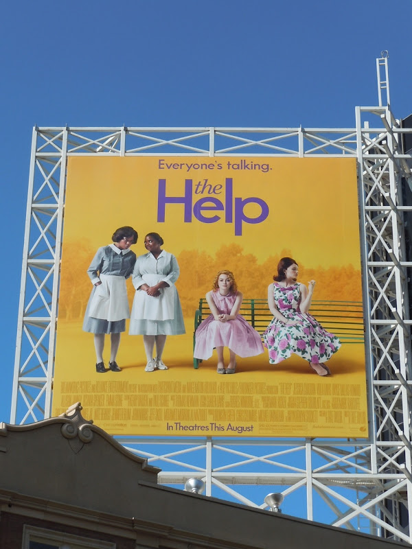 The Help film billboard