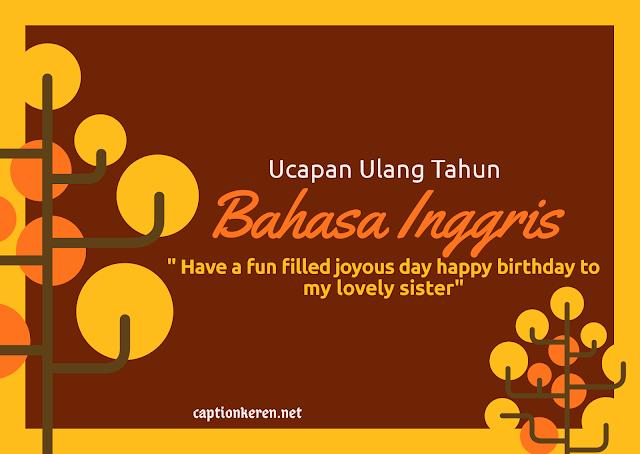 ucapan ulang tahun bahasa inggris