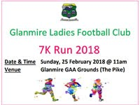 7k race in Glanmire nr Cork City...Sun 25th Feb 2018